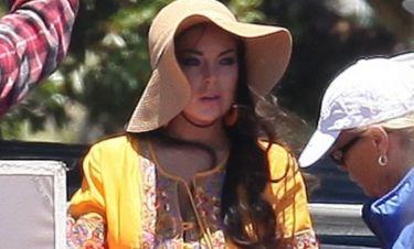 Lindsay Lohan: Επιστροφή στη δουλειά μετά το ατύχημα