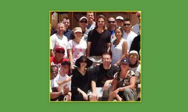 Brangelina: Παρέα με το τάγμα πεζικού στο Λούξορ