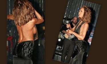 Πάολα… ακατάλληλο: Δείχνει το στήθος της πάνω στην… πίστα!!!!! (Nassos Blog)