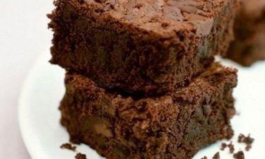 Γλυκό: brownies με λίγες θερμίδες