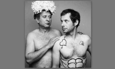 Κώστας Κόκλας-Γιώργος Πυρπασόπουλος: Γυμνοί…και άνετοι ποζάρουν και σοκάρουν!!! (Nassos blog)
