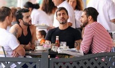 Marc Jacobs: Βόλτα με τον πρώην και τον νυν πορνοστάρ σύντροφό του
