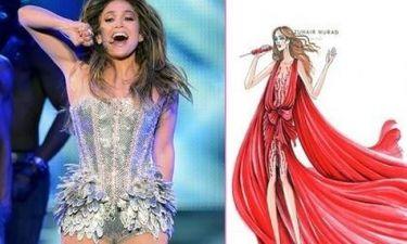 Τα κοστούμια της Jennifer Lopez για την περιοδεία της