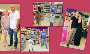 Νκοπολίδης-Μπασινάς- Κορωνιός-Παπαδόπουλος: Γιόρτασαν την παγκόσμια ημέρα παιδιού με τις οικογένειές τους!