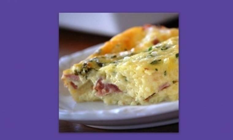 Αυγά στο φούρνο με τη μορφή σουφλέ