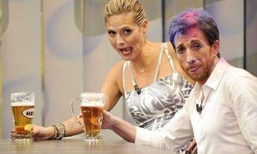 Heidi Klum: Και πίνει μπύρες