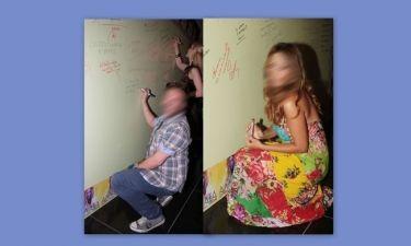 Τους πιάσαμε να γράφουν στον τοίχο! (φωτό)
