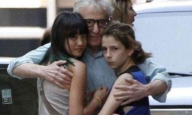 Μια σπάνια φωτογραφία του Woody Allen