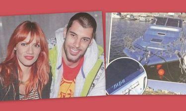 Ο Πρίντεζης έδωσε στο σκάφος του το όνομα της αγαπημένης του!