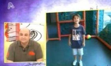 Μάρκος Σεφερλής: Οι ερωτήσεις του γιου του που τον συγκίνησαν!
