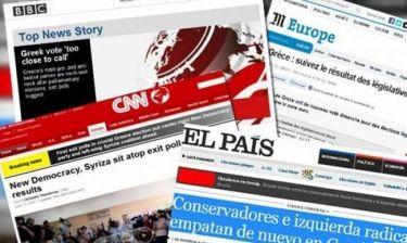 Η αντίδραση των ξένων ΜΜΕ στα exit polls