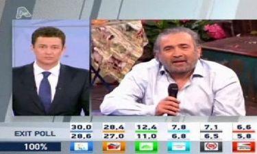 Εκλογές 2012 Αποτελέσματα: Το σχόλιο του Λάκη Λαζόπουλου για τα αποτελέσματα των εκλογών!
