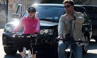 Madonna: Ποδηλατάδα στη Φλωρεντία