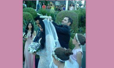 Χριστίνα Παύλου-Ανδρέας Μπέκιος: Νέες φωτογραφίες από το γάμο τους