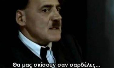 Euro 2012: Ο Χίτλερ μαθαίνει για τον αγώνα Ελλάδας - Γερμανίας! (vid)