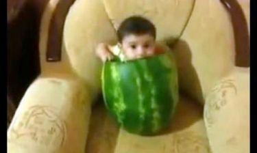 Έτσι πρέπει να τρώγεται το καρπούζι!