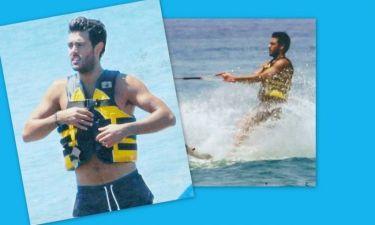 Κώστας Μαρτάκης: Ξέρει και από θαλάσσιο ski!