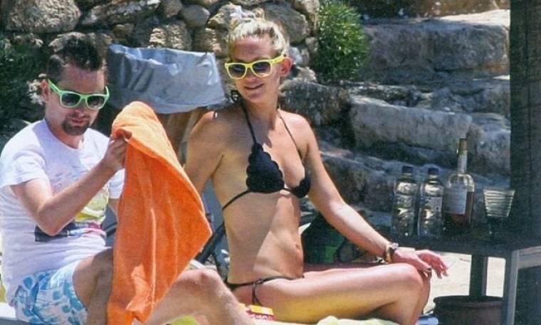 Κεϊτ Χάντσον: Διακοπές στη Σκιάθο με την οικογένεια της