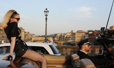 Madonna: Τα γυρίσματα στους δρόμους της Φλωρεντίας συνεχίζονται