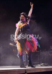 Φωτογραφίες από τη συναυλία των Evanescence!