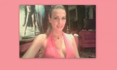 Φωτό Λίνα Μαρίλη: Η ερεθισμένη παρουσιάστρια «έπαιξε» …Ελλάδα για νίκη!!! (Nassos blog)