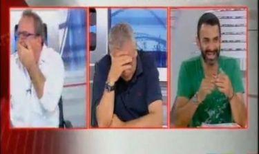 Δημήτρης Καμπουράκης: Γιατί τον έπιασε νευρικό γέλιο στον αέρα της εκπομπής;