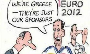 Ελλάδα - Γερμανία: Προκαλεί το BBC με ειρωνική γελοιογραφία