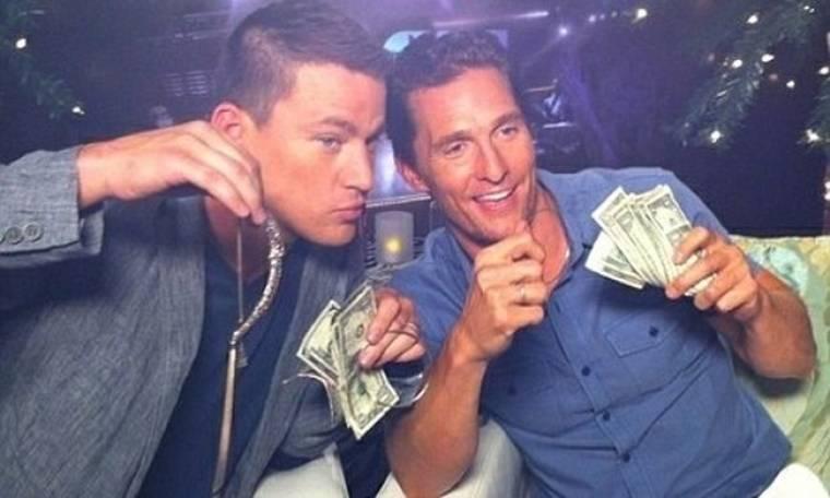 Matthew McConaughey – Channing Tatum: Έβγαλαν λεφτά από την επίσημη παρουσίαση του Magic Mike!