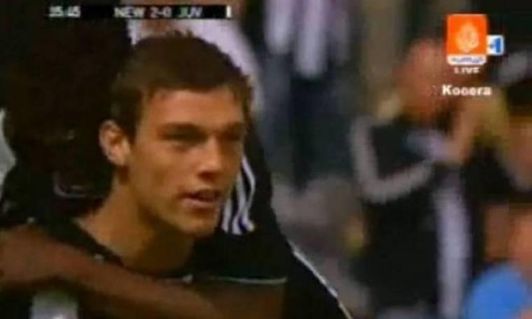 Euro 2012: Το γκολ του Κάρολ στον Μπουφόν (video)
