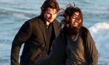 Christian Bale και Freida Pinto: Γυρίσματα στην παραλία