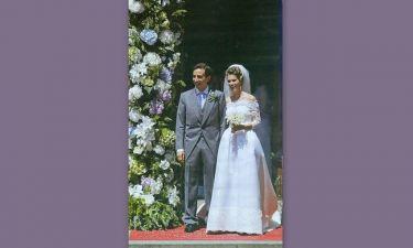 Λιβανός – Τσαβλίρη: Ενώθηκαν με τα ιερά δεσμά του γάμου στην Βρετανική πρωτεύουσα!