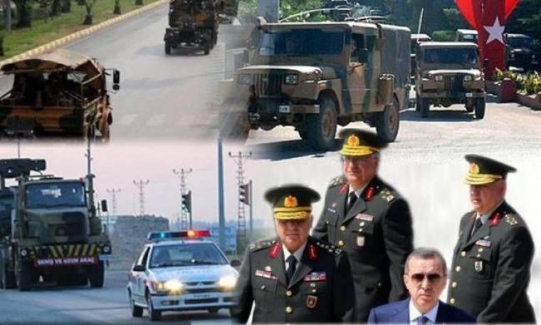 Ευθείες απειλές από Ερντογάν και κινήσεις τουρκικού στρατού