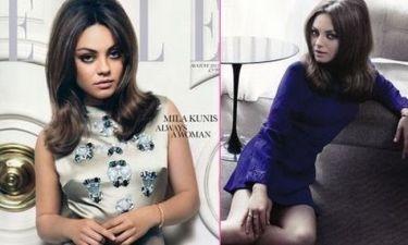 Η Mila Kunis στο Elle
