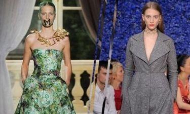 Η ελληνική ομορφιά κατακτά τις πασαρέλες στην εβδομάδα υψηλής ραπτικής στο Παρίσι