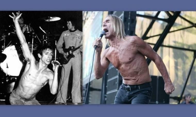 Iggy Pop: Το πριν και το μετά! (φωτό)
