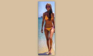 Άννα Πρέλεβιτς: Sexy on the beach