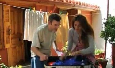 Η Τασούλα και ο Κίτσος γύρισαν διαφήμιση στο σπίτι γνωστού ηθοποιού!