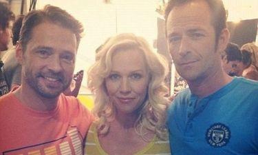 Το… ερωτικό τρίγωνο του Beverly Hills 90210, 17 χρόνια μετά!