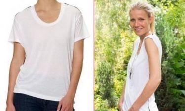 Η Gwyneth Paltrow παρουσιάζει το τέλειο t-shirt