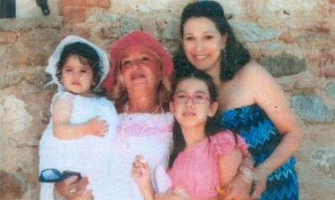 Βίλμα Τσακίρη: Βάφτισε την εγγόνα της