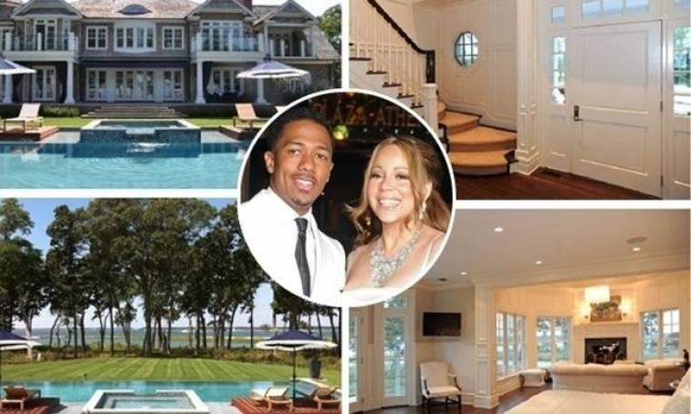 Η έπαυλη – υπερπαραγωγή που νοίκιασαν η Mariah Carey και ο Nick Cannon
