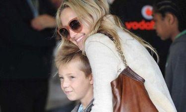 Kate Hudson: Με τον Ryder στο ράλι του Silverstone