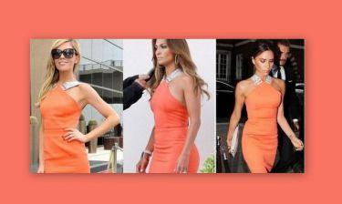 Τρεις κυρίες… ένα φόρεμα! (φωτό)