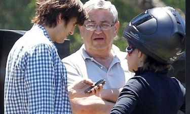 Ashton Kutcher – Mila Kunis: Βόλτες με τη μοτοσικλέτα
