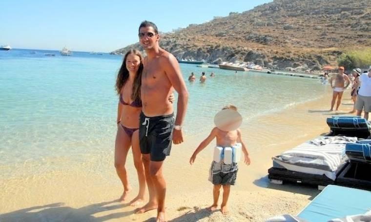 Οικογενειακές διακοπές στο νησί των ανέμων για τον Dusan Vukcevic