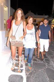 Εύα Λάσκαρη: Διακοπές με τη μαμά της