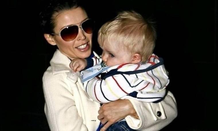 Dannii Minogue: Έκανε πάρτι για το γιο της