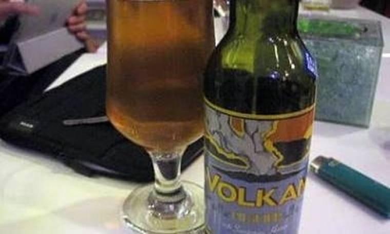 Η Σαντορίνη παρουσιάζει τη δική της μπύρα με τίτλο Volkan!