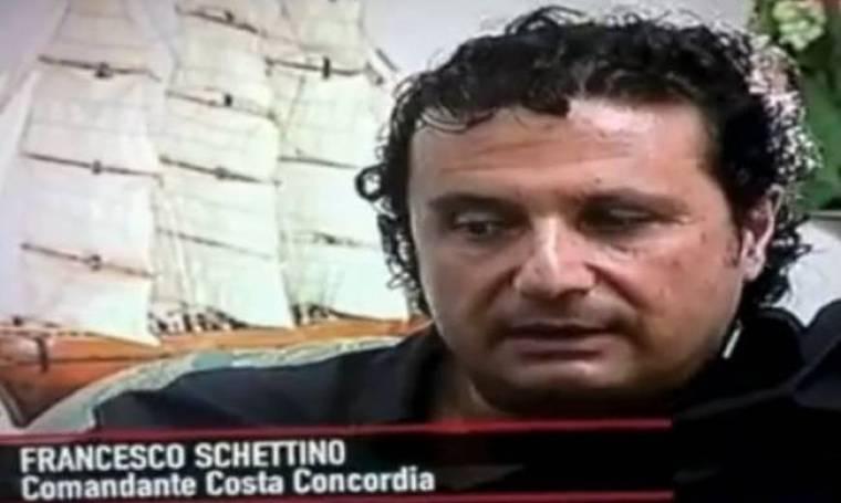 Ο Πλοίαρχος του Costa Concordia μίλησε για πρώτη φορά μετά το ναυάγιο
