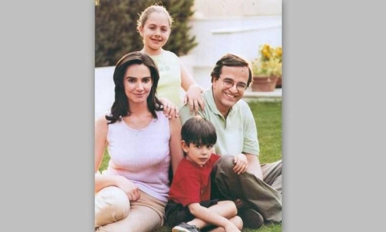Οικογενειακές στιγμές του Αντώνη Σαμαρά